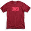 100% Essential T-Shirt Herrer rød